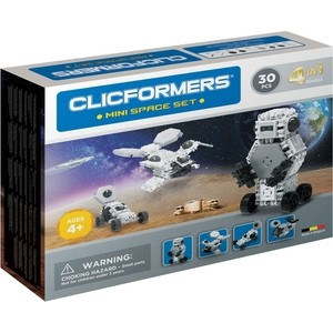Конструктор CLICFORMERS Space set mini 30 деталей (804003)