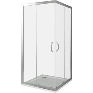 Душевой уголок Good Door Infinity CR-100-C-CH профиль хром, стекло прозрачное (ИН00020)