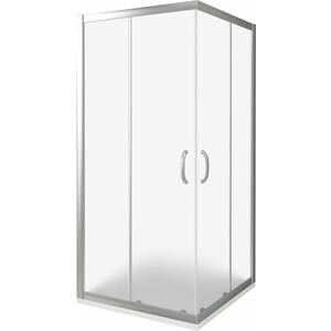 Душевой уголок Good Door Infinity CR-80-G-CH профиль хром, стекло матовое (ИН00015)