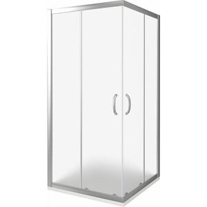 Душевой уголок Good Door Infinity CR-90-G-CH профиль хром, стекло матовое (ИН00018)