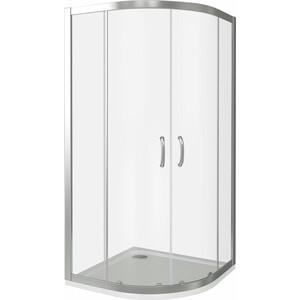 Душевой уголок Good Door Infinity R-80-C-CH профиль хром, стекло прозрачное (ИН00002)