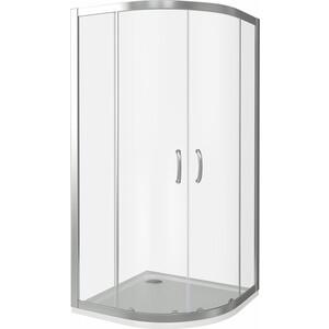 Душевой уголок Good Door Infinity R-90-C-CH профиль хром, стекло прозрачное (ИН00005)