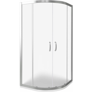 Душевой уголок Good Door Infinity R-80-G-CH профиль хром, стекло матовое (ИН00003)