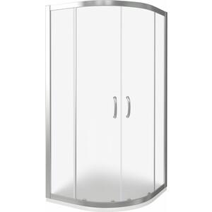 Душевой уголок Good Door Infinity R-90-G-CH профиль хром, стекло матовое (ИН00006)