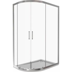 Душевой уголок Good Door Latte R-120-C-WE профиль белый, стекло прозрачное (ЛА00004)