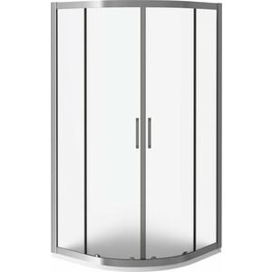 Душевой уголок Good Door Latte R-80-G-WE профиль белый, стекло матовое (ЛА00015)
