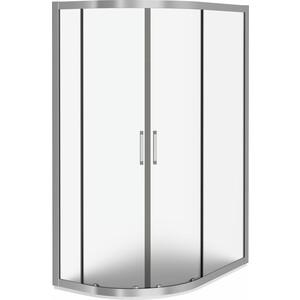 Душевой уголок Good Door Latte R-120-G-WE профиль белый, стекло матовое (ЛА00017)