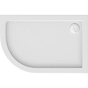 Душевой поддон Good Door Калипсо, 120x80 см, правый, ножки (ПН00045)