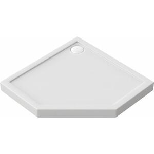 Душевой поддон Good Door Диамант, 90x90 см, пятиугольный, ножки (ПН00035)