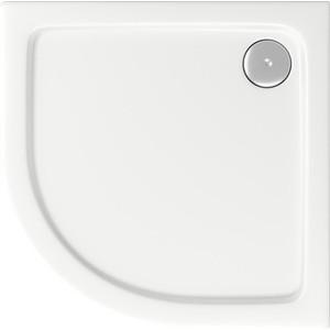 Душевой поддон Good Door Раунд, 80x80 см, полукруглый, ножки (ПН00032)