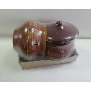 Набор из 2-х горшков для запекания Борисовская керамика № 10 (к) (ОБЧ00000007)