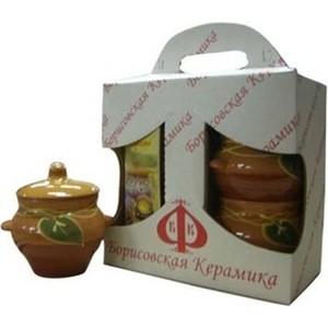 Набор из 4-х горшков для запекания Борисовская керамика № 5 (ОБЧ00000277)