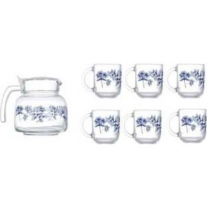 Набор для чая 7 предметов Luminarc Altese Blue (N6224)