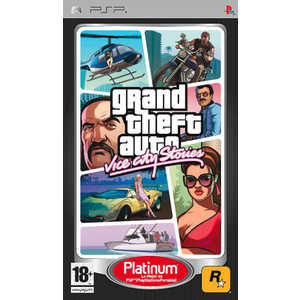 Игра для PSP  Grand Theft Auto: Vice City Stories (PSP, английская версия)