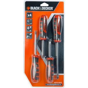 Набор отверток Black&Decker 4 шт (BDHT0-66429)