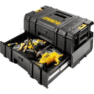 Ящик для инструментов DeWALT с 2-мя выдвижными секциями 550x278x334 мм (DWST1-70728)