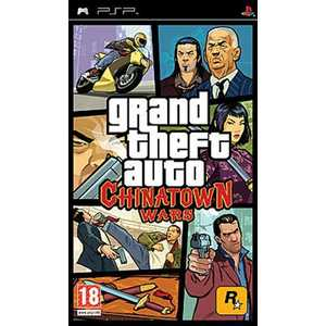 Игра для PSP  Grand Theft Auto China Town Wars (PSP, английская версия)