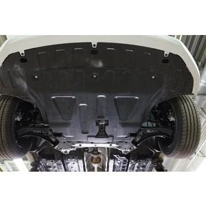 Купить Защита картера и КПП АВС-Дизайн для Hyundai Solaris SD, HB (2017-н.в.) / Kia Rio IV SD, HB (2017-н.в.), композит 6 мм, 10.22k