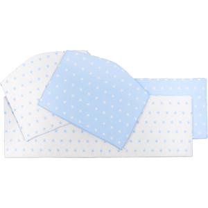 Бортики Sweet Baby Stelle Blu (Голубой), 4 части
