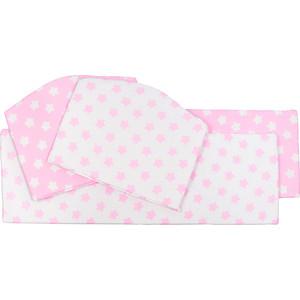 Бортики Sweet Baby Stelle Rosa (Розовый), 4 части