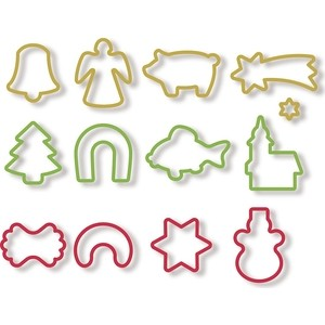 Формочки рождественские 13 штуки Tescoma Delicia (630902)