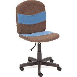 Кресло TetChair STEP ткань коричневый/синий 3М7-147/С24