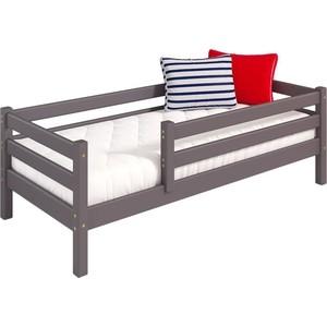 Детская кровать Мебельград Соня с защитой по периметру вариант 3 лаванда