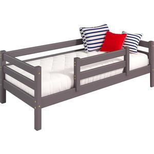 Детская кровать Мебельград Соня с задней по центру вариант 4 лаванда