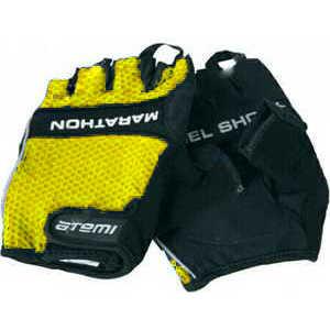 Atemi 01-335 перчатки велосипедные, цвет желтый, Размер, XL
