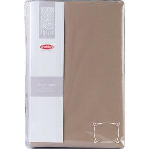 Наволочки 2 штуки Hobby home collection 50х70 см коричневый (1501001934)