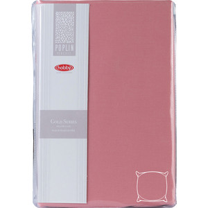 Наволочки 2 штуки Hobby home collection 70х70 см розовый (1501001962)