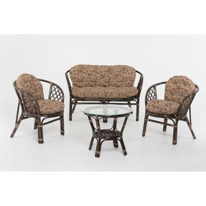 Комплект для отдыха Vinotti 01/16 tropica коричневые подушки