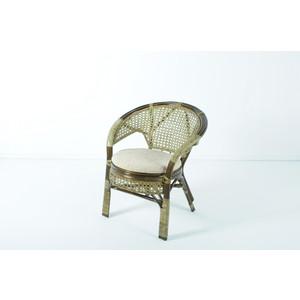 Кресло с подушкой Vinotti 02/15В олива