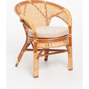 Кресло с подушкой Vinotti 02/15В коньяк