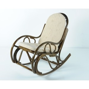 Кресло-качалка с подушкой Vinotti 05/04 олива
