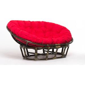 Кресло Vinotti mamasan 23/02 олива красная подушка
