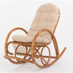 Кресло-качалка с подушкой Vinotti 05/04B TS коньяк
