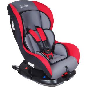 Автокресло BamBola 0-18 кг Bambino Isofix Серый/Красный KRES1520
