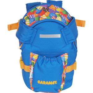 Рюкзак кенгуру Pituso Caramel цвет васильковый/принт карамелька от 1 до 10 месяцев 201502