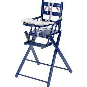 Стульчик для кормления Combelle складной Sarah 57х56х97 см Navy blue / Темно - синий 846