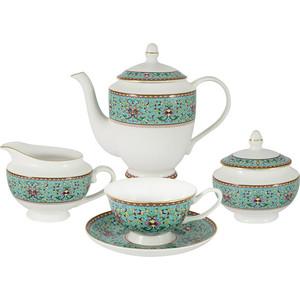 Чайный сервиз 15 предметов на 6 персон Anna Lafarg Stechcol Восточный дворец (AL-13861-BLU-TS/15-ST)