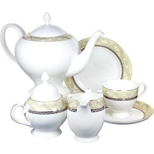 Чайный сервиз 21 предмет на 6 персон Anna Lafarg Emily Романтика (AL-HV005011/21-E5)