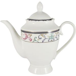 Заварочный чайник 1.0 л Anna Lafarg Primavera Узор (AL-NHK01-045-PW)