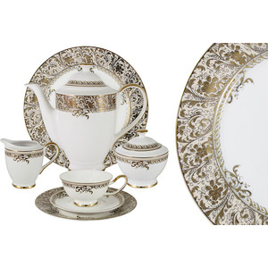 Чайный сервиз 40 предметов на 12 персон Anna Lafarg Emily Сказка (AL-W16Q62G/40-E6)