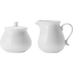 Набор сахарница и молочник Maxwell & Williams Белая роза (MW688-JX76555)