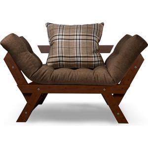 Кресло Anderson Отман орех-коричневая рогожка