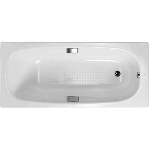 Стальная ванна Gala Vanesa 160х75см с ручками и звукоизоляцией (6736001)