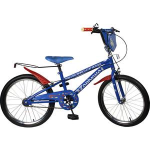 Велосипед FIFA 2018 Колёса 20 дюймов. ручные тормоза,пластиковые.крылья,багажник для мяча, рама JK719 (ВН20181)