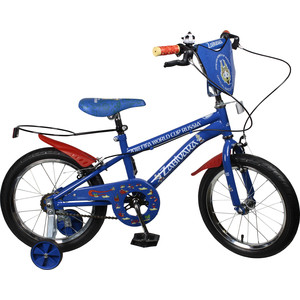 Велосипед FIFA 2018 Колёса 16дюймов, ручные тормоза, багажник для мяча, рама JK719 (ВН16128)