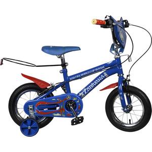 Велосипед FIFA 2018 Колёса 12дюймов,багажник для мяча, доп.колеса, рама JK719 (ВН12112)